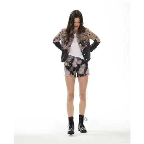 Tye Dye Jean Shorts