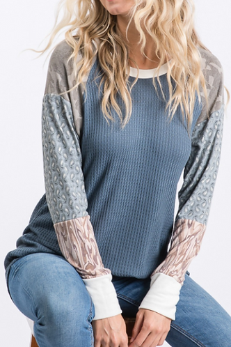 Lightweight Thermal With Mixed Print Sleeve