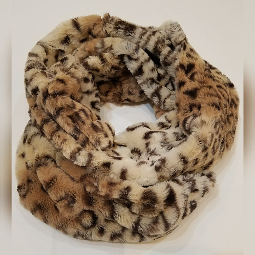 Super Soft Animal Print Infinity Scarf