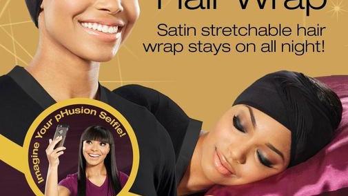 PHusion Satin Hair Wrap