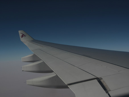 飛行機の旅は瞑想で乗り切る