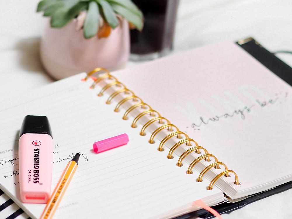 Bullet journal stabilo pastel