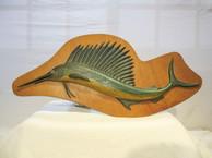 Whimsical Sailfish Plaque