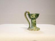 Austrian Pottery Chamberstick