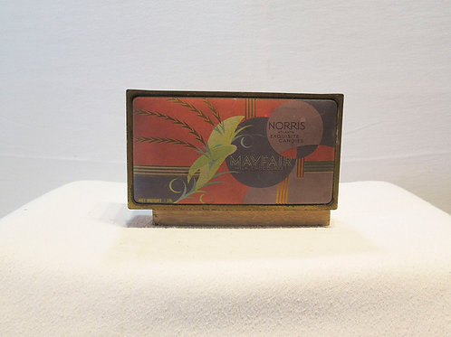 Vintage Candy Tin with Art Deco Flair