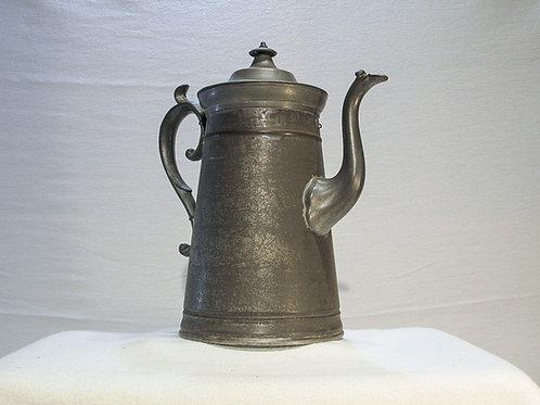 Tin & Pewter Coffee Pot