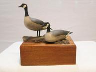 Russ Burr Canada Goose Pair