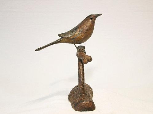 Whimsical PA Folk Art Songbird