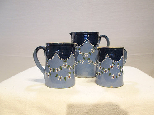 French Porcelain Painted Measures