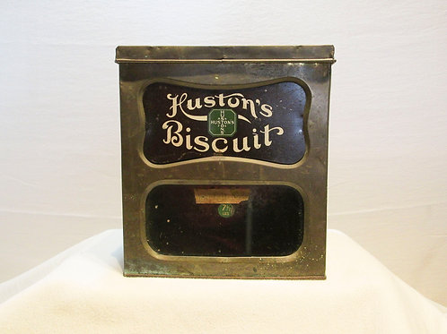 T.A. Huston Biscuit Tin
