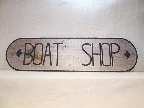 Boat Shop Sign