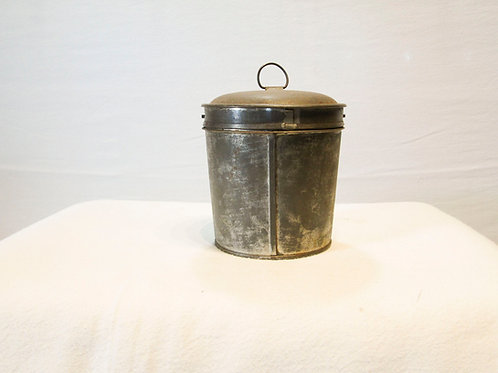Antique Tin Pudding Mold