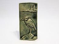 Arts & Crafts Heron Tile