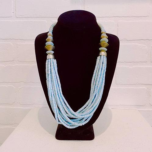 Blue Stone Vintage Necklace