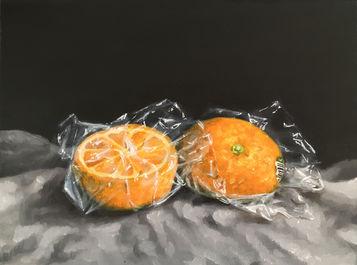 Study in orange #1