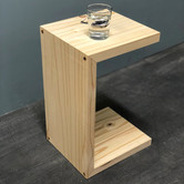 Side table, solid pine