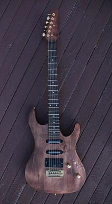 Guitar refinishing