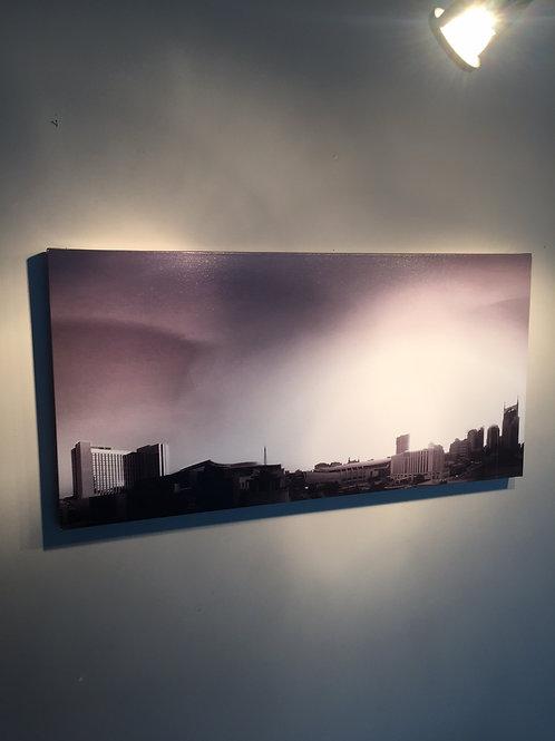 Nashville Sunset | 16x32 | Gallery Canvas Print