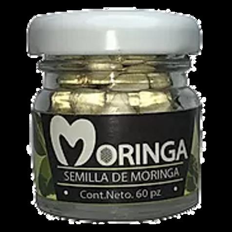 60 Semillas De Moringa Orgánica Pelada Y Seleccionada