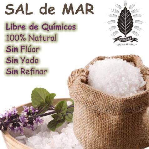 1 Kilo De Sal De Mar Orgánica 100% Natural