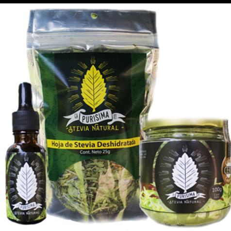 Stevia Familiar Tres Presentaciones