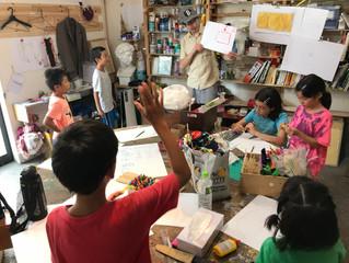【レポート】「どこかの、なにかの、細部を描く。そして、答える」クリエイティブシンキングコース2018/07/21