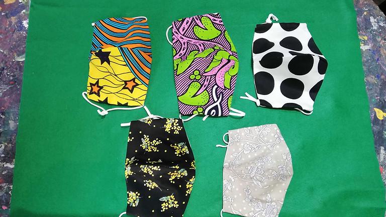 【4月のママ部】手縫いで作ろう!手作りマスク!