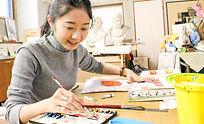 練馬区,大人,絵画教室,水彩,新座