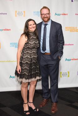 Nicole with Director David Alpert