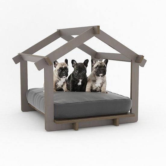 CASA LEO Mascotas castaño / Pet house