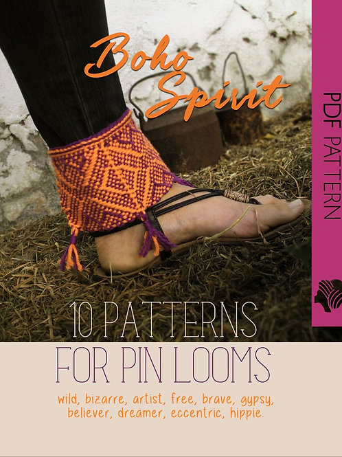 Boho Spirit Pattern Collection / PDF instant down