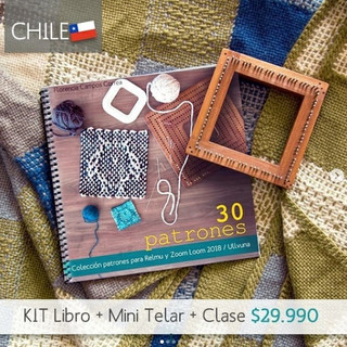 CHILE: Kit book + pin loom