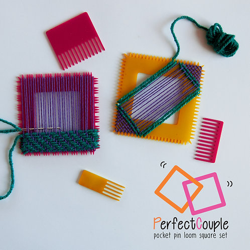 PerfectCouple pin loom set / shipping costs included!