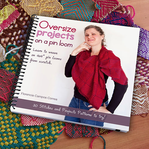 Oversize Pin Loom book / shipping costs included only to the US