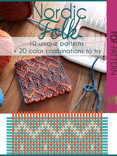 Nordic Folk Pattern Collection / PDF instant down