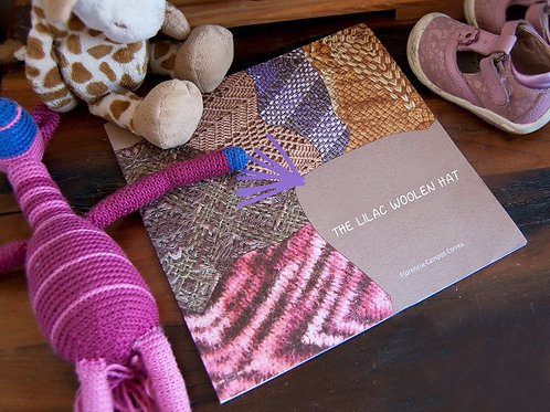 The Lilac Woolen Hat story book / shipping costs included!