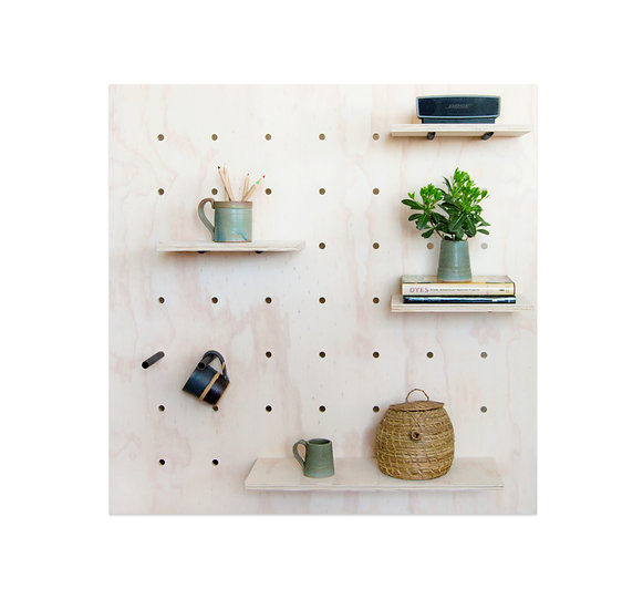 Panel Perforado Acero / Pegboard