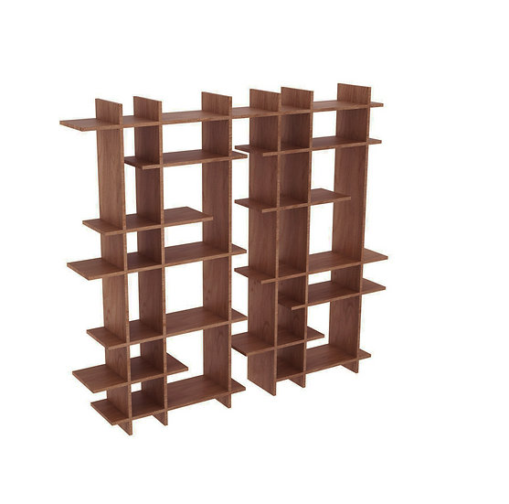 SHUKAI doble Estante / Bookcase