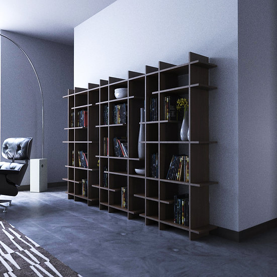 SHUKAI triple Estante / Bookcase