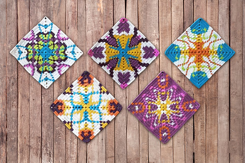 Latin Vibes / Crochet PDF instant download