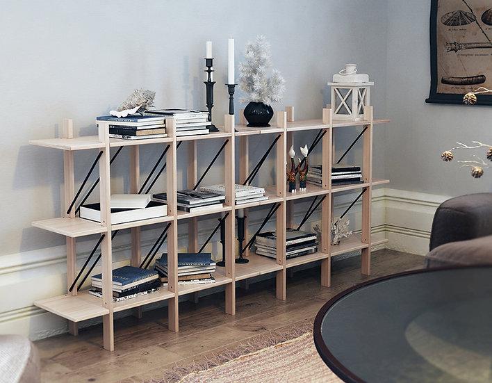 CUERNOS horizontal Estante / Bookcase