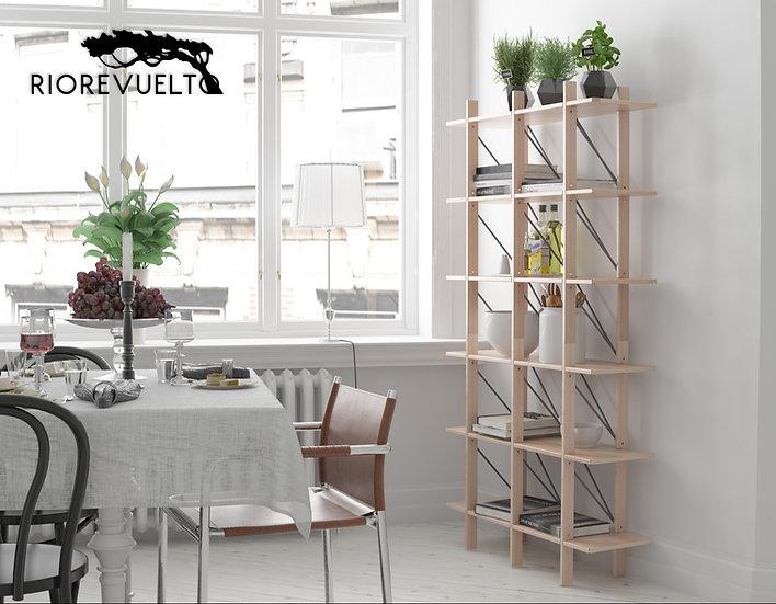 CUERNOS alto Estante / Bookcase
