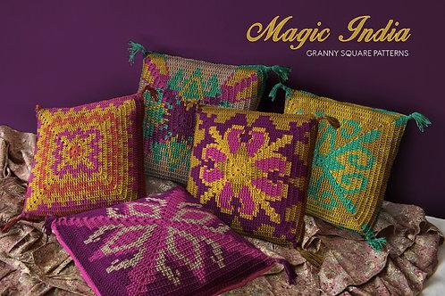 Magic India / Crochet PDF instant download