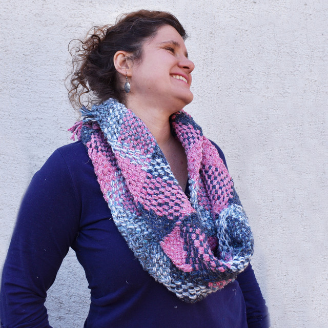 Sustainable infinity scarf project