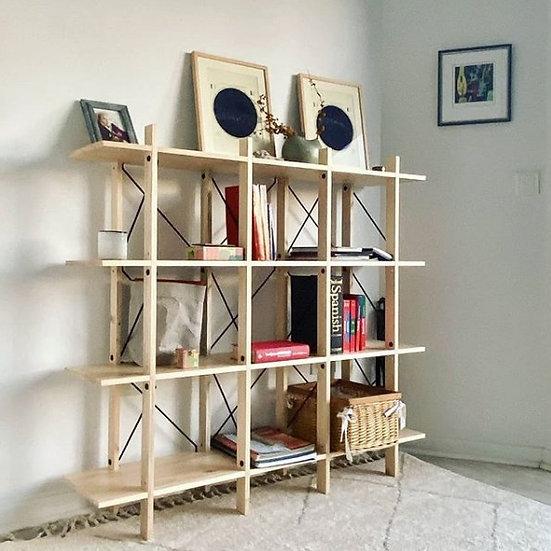 CUERNOS Nueve Estante / Bookcase