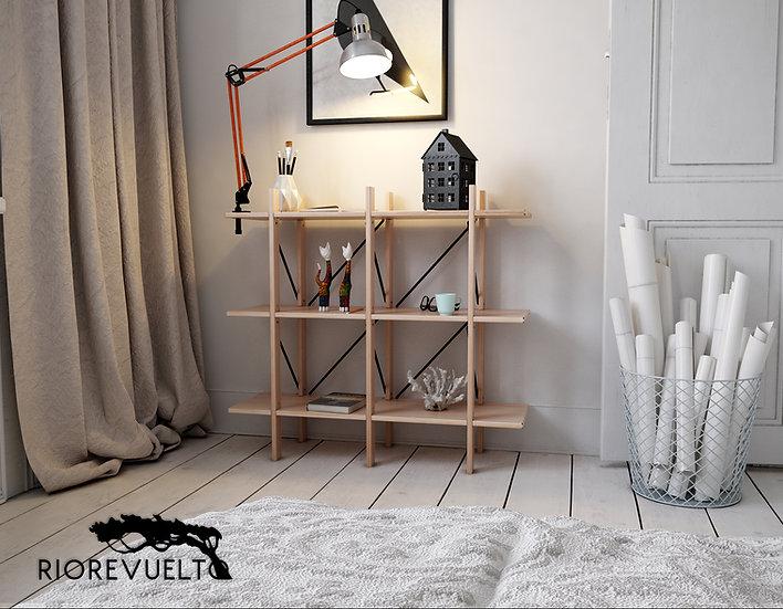 CUERNOS simple Estante / Bookcase