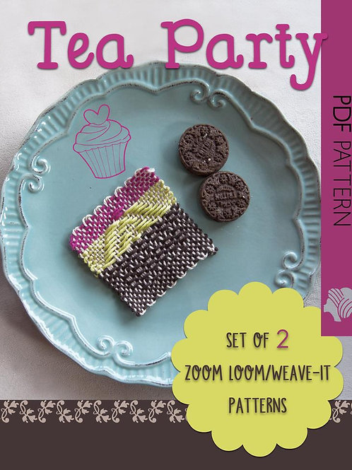 Tea Party Pattern Collection / PDF instant down