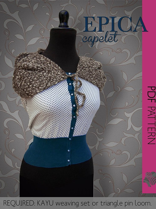 Epica capelet / PDF instant download