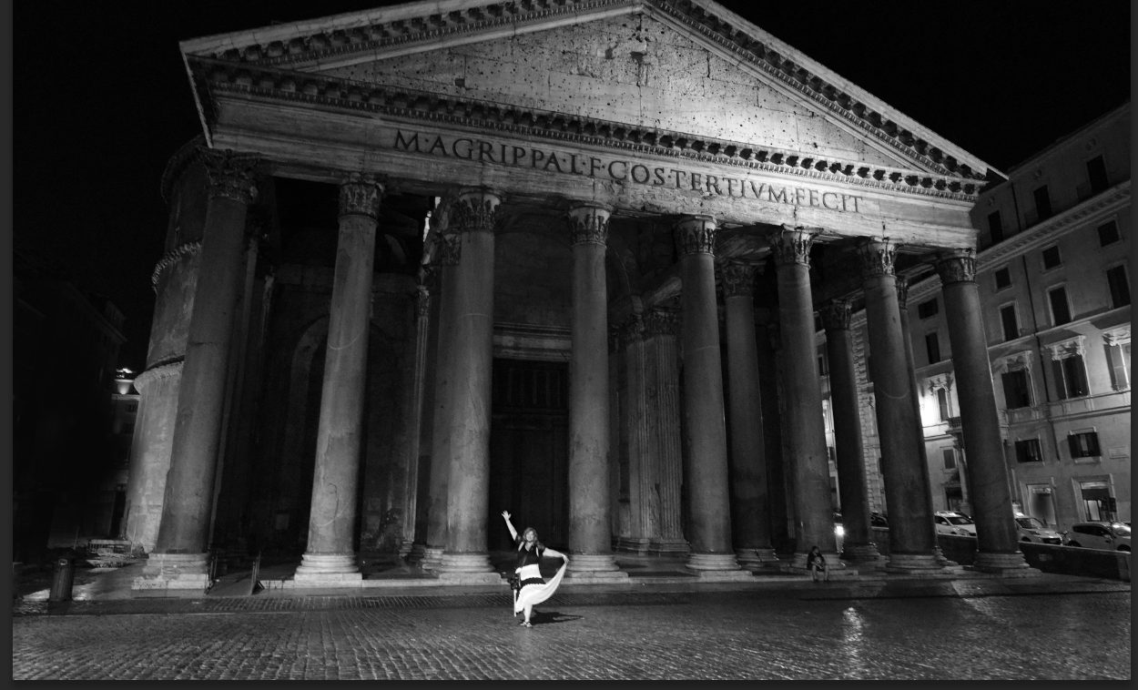 """Pantheon Dance"" - Rome/Italy"