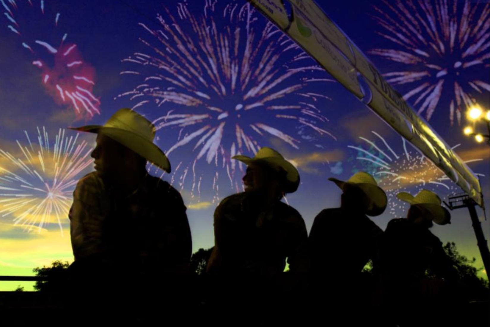 """""""Cowboy Fireworks"""" - Folsom/CA"""